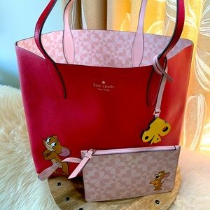 Kate Spade Tom and Jerry Large Tote Set